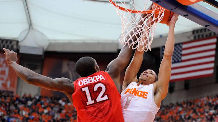 NCAA Basketball: St. John's at Syracuse