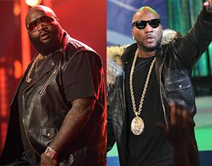 Rick Ross, Young Jeezy Fight Backstage at BET Awards: Report