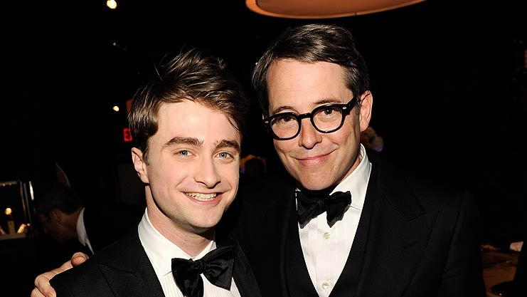 Radcliffe Broderick Tony Awards
