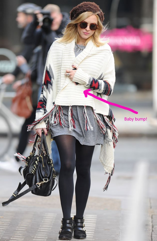 Fearne Cotton, baby bump, pregnancy