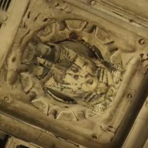 UNDERNEATH THE MILLENNIUM FALCON