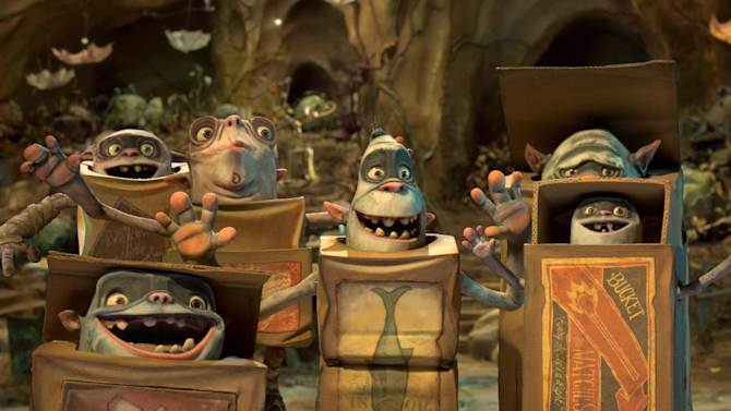 """In this image released by Focus Features, a scene is shown from """"The Boxtrolls."""" (AP Photo/Focus Features)"""
