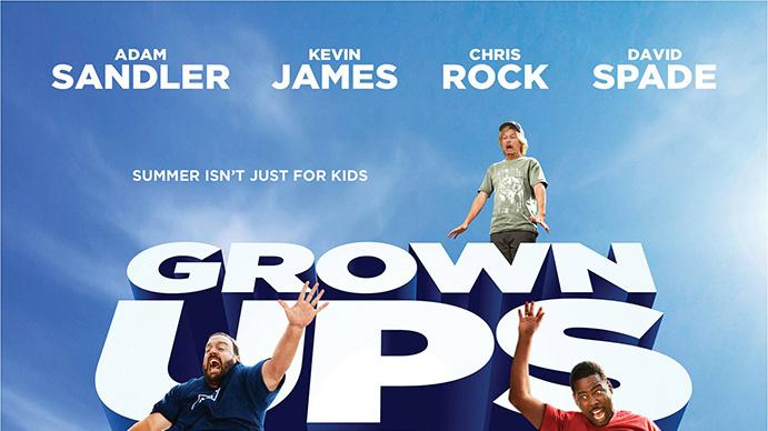 Grown Ups 2 Teaser Poster