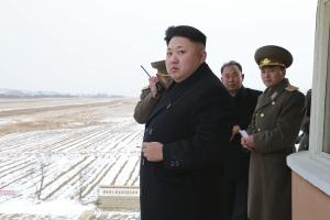 North Korean leader Kim Jong Un inspects KPA Air and …