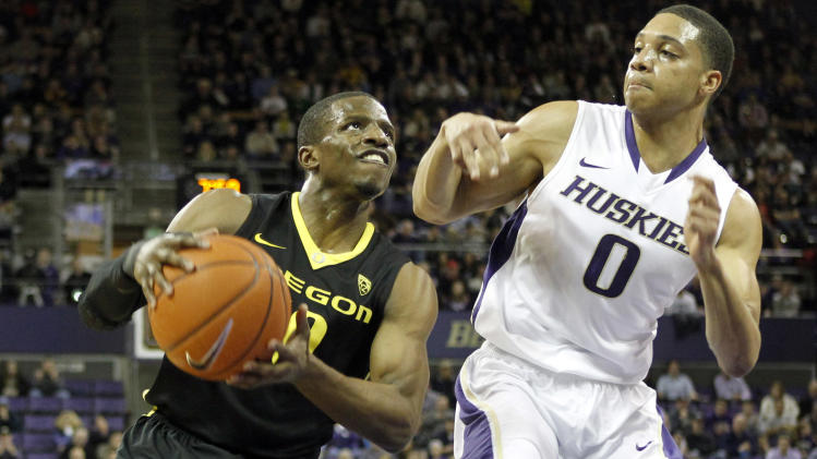 NCAA Basketball: Oregon at Washington