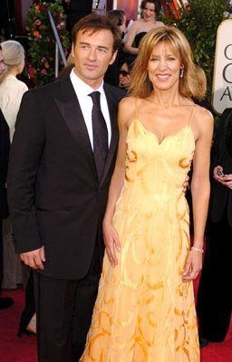 Julian McMahon and Christine Lahti