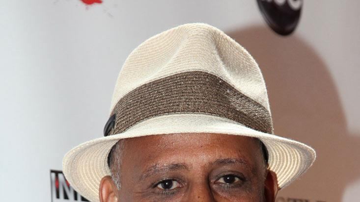"Ruben Santiago-Hudson arrives at the ""Castle"" Season 3 premiere party on September 13, 2010, in Los Angeles."