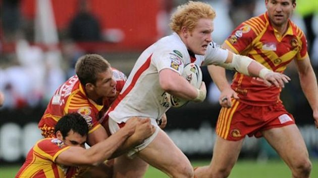 James Graham in action for St Helens (PA)