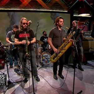 "Saturday Sessions: The Budos Band performs ""The Sticks"""