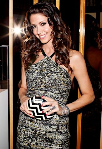 Shannon Elizabeth Parties in NYC