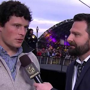 Carolina Panthers linebacker Luke Kuechly: 'We have done a great job in the draft'