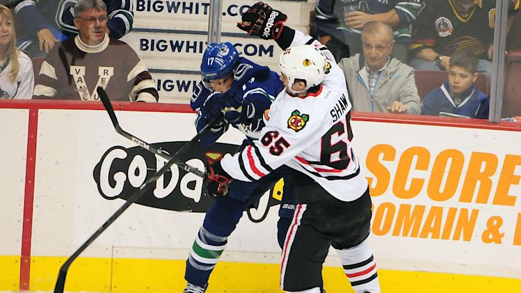 NHL: Chicago Blackhawks at Vancouver Canucks