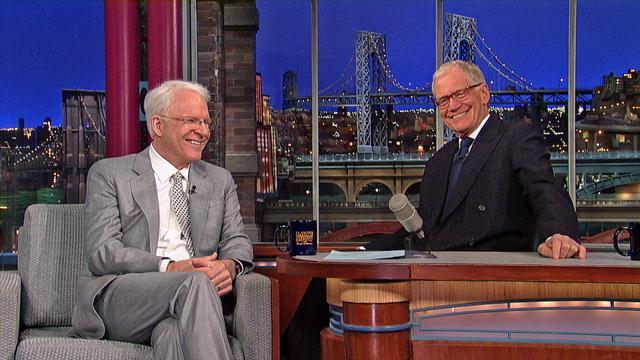 David Letterman - Steve Martin Is Unable To Be Here