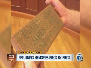 Returning memories brick-by-brick