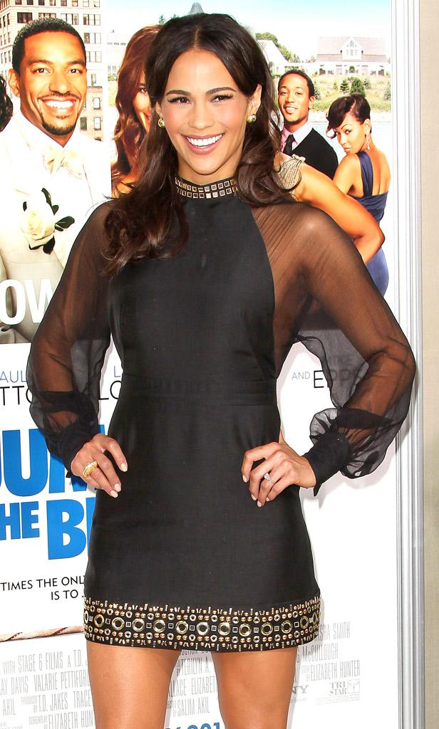 Paula Patton Premiere Tri Star Pictures Jumping The Broom