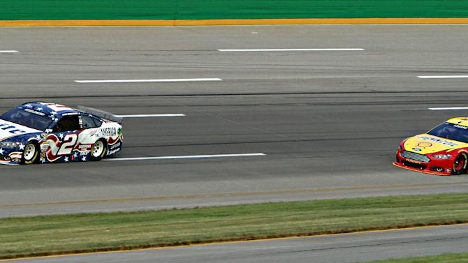 Keselowski wins for 2nd time at Kentucky Speedway