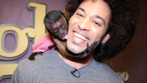 Backstage: Crystal the Monkey