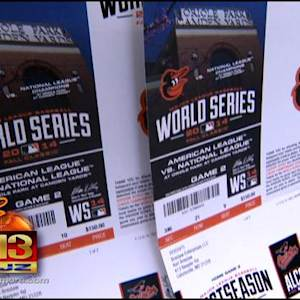Dog Hungry To See Orioles In Playoffs, Chews Tickets