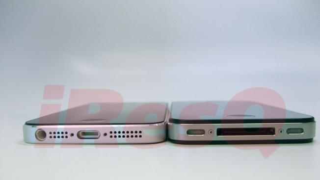 New high-quality photos show how thin iPhone 5 is compared to iPhone 4S