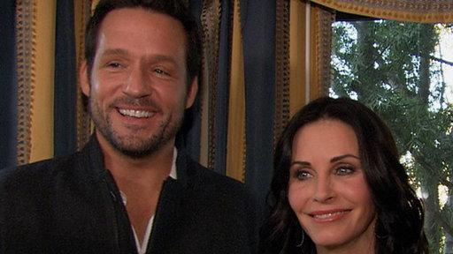 Courteney Cox, Josh Hopkins & Dan Byrd Talk Moving 'Cougar Town' to TBS