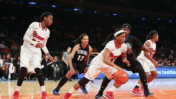 NCAA Womens Basketball: Seton Hall at St. John's