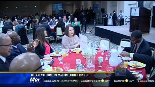 Breakfast honors Martin Luther King Jr.