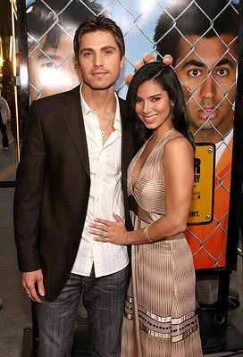 Eric Winter and Roselyn Sanchez at the Los Angeles premiere of New Line Cinema's Harold and Kumar Escape from Guantanamo Bay