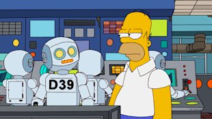 When Software Leads To Software Replacing People image homer robot
