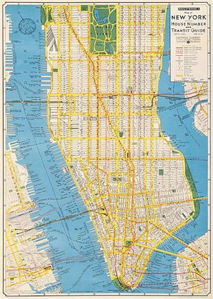 NYC Transit Map