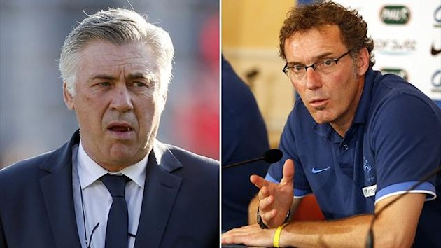 Carlo Ancelotti / Laurent Blanc double
