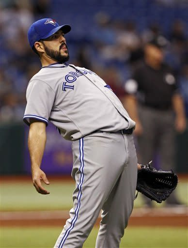 Cobb goes 7 solid innings, Rays beat Blue Jays
