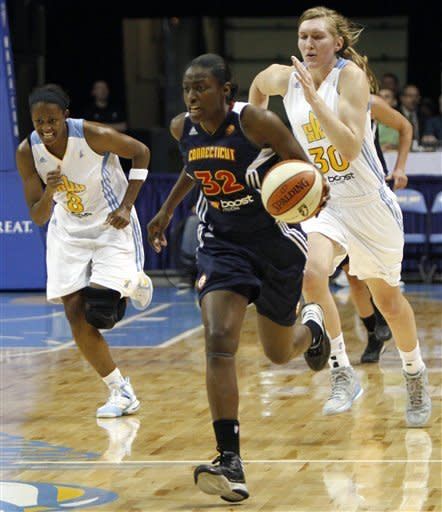 Charles scores 24 points as Sun beat Sky 83-72