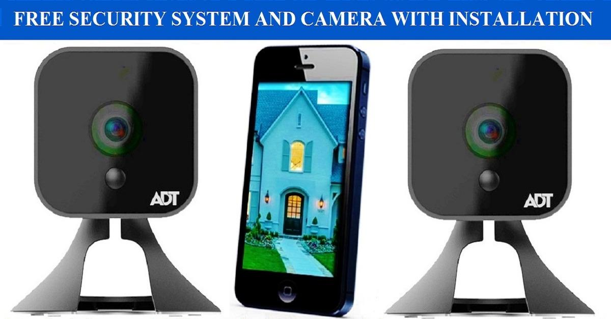 Get a Free ADT Security Camera with Installation!