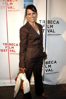 Constance Zimmer Layer Cake premiere - Tribeca Film Festival April 22, 2005 - New York, NY
