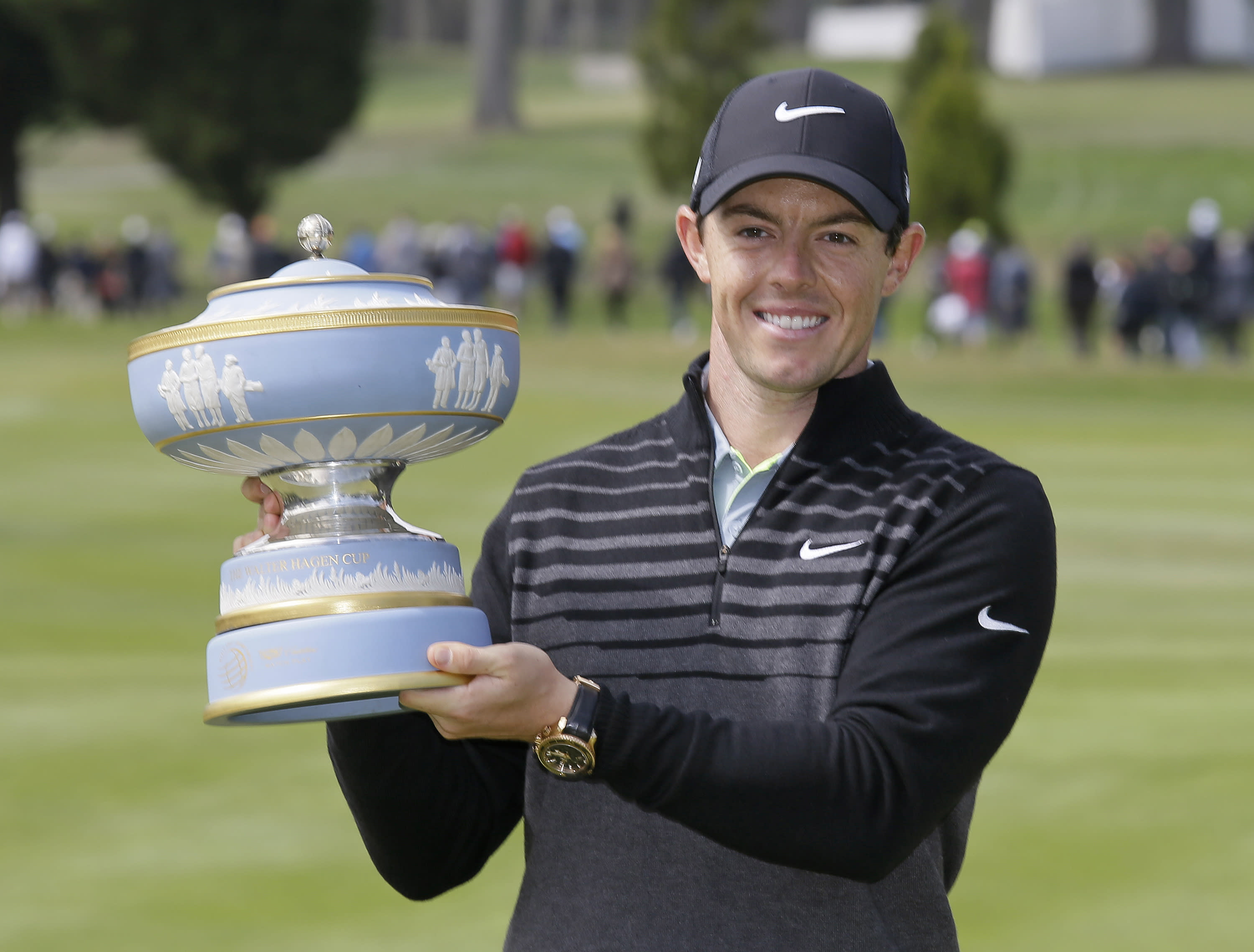 Rory McIlroy: Holding the top ranking, wearing the crown