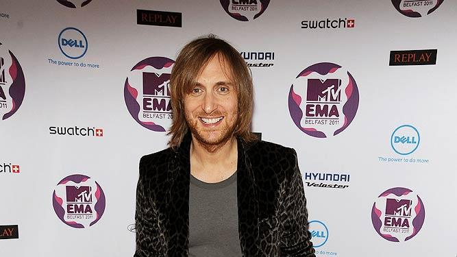 David Guetta MTV European Music Awards