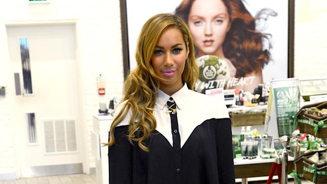 Leona Lewis Makes A Personal Appearance At The Body Shop