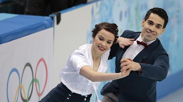 Sochi 2014 Figure Skating Anna Cappellini and Luca Lanotte