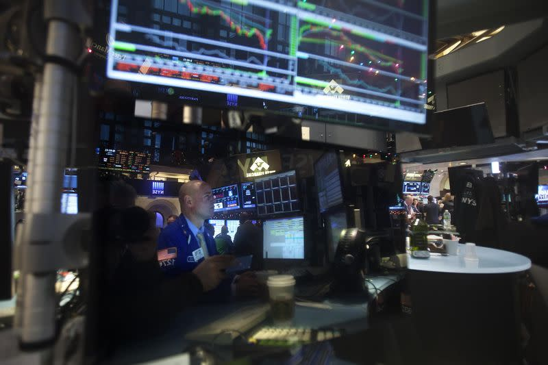 Wall Street falls on miners, UPS; indexes up for week