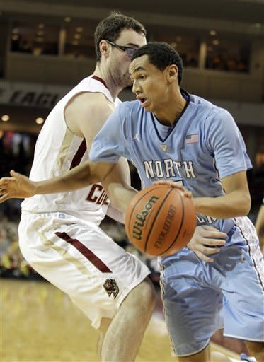 UNC beats BC 82-70 despite Hairston's injury
