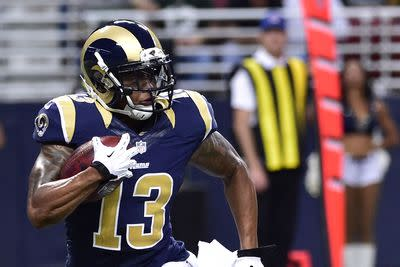 Rams trade WR Chris Givens to Ravens, per report
