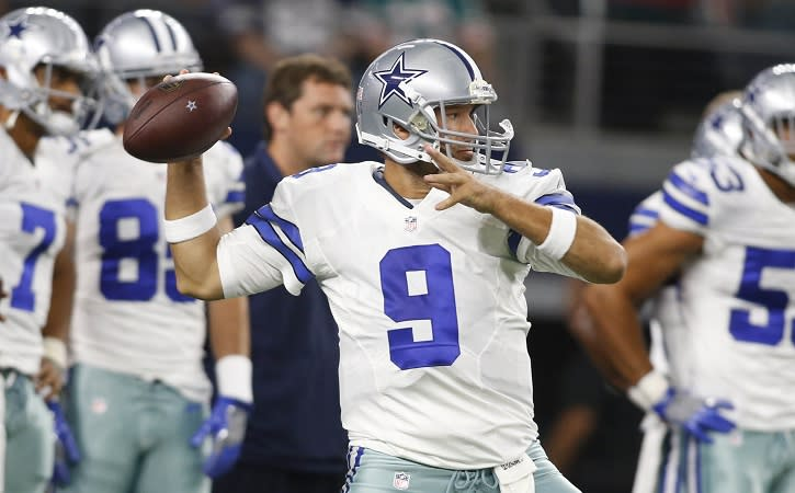 Bears the odds-on favorite to land Tony Romo