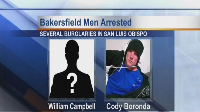 Bakersfield men arrested in San Luis Obispo