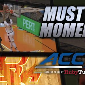 Boston College's Garland Owens Skies for Alley-Oop | ACC Must See Moment