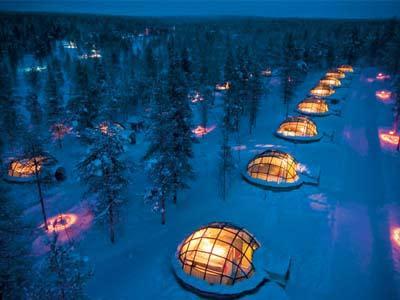 Mau Menginap Di Hotel Igloo 'Kakslauttanen', Finlandia?