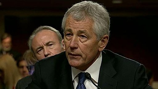 Hagel grilled over past comments on Capitol Hill