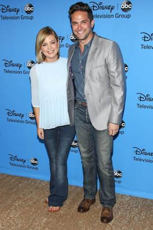 Kirsten Storms and Brandon Barash attend the Disney & ABC Television Group's '2013 Summer TCA Tour' at The Beverly Hilton Hotel on August 4, 2013 in Beverly Hills  -- Getty Images