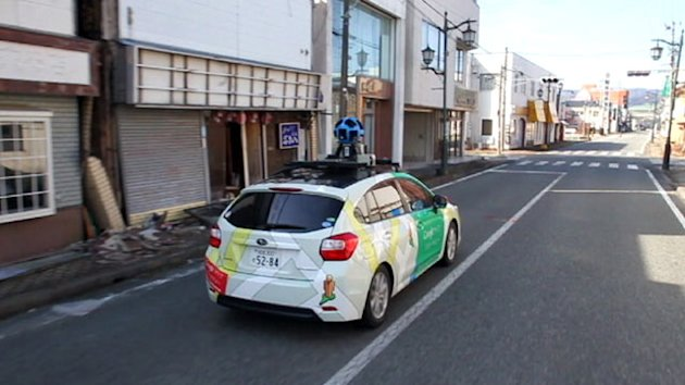 Google Begins Mapping Japan's Nuclear Exclusion Zone (ABC News)