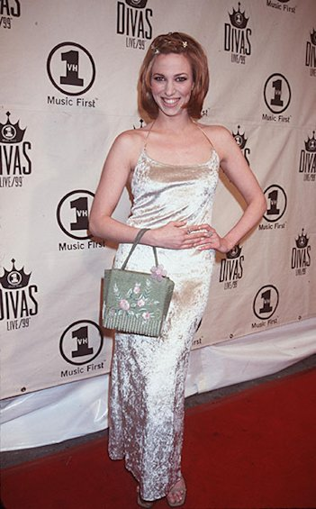 On the 1999 VH1 Divas red carpet