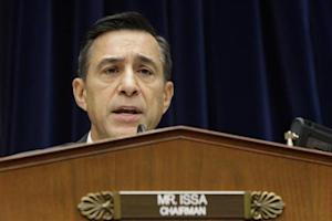 Issa holds a House Oversight and Government Reform Committee hearing on alleged targeting of political groups seeking tax-exempt status from by IRS, in Washington